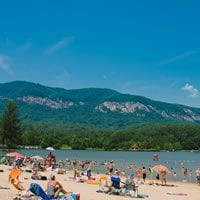 The Beach at Lake Lure